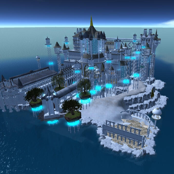 OAR Opensim City White